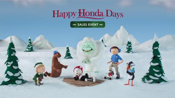 Happy Honda Days Sales Event TV Spot, 'Holiday Characters: 2017 Accord LX' - Thumbnail 9