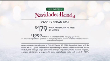 El Evento Navidades Honda TV Spot, 'Santa' [Spanish] - Thumbnail 7