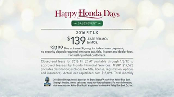 Happy Honda Days TV Spot, 'Friends' [T2] - Thumbnail 9