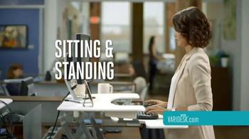 Varidesk TV Spot, 'Relief While You Work' - Thumbnail 3