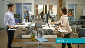 Varidesk TV Spot, 'Relief While You Work' - Thumbnail 5