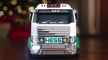 Hess Toy Truck and Dragster TV Spot, 'Holiday Caroling'