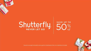 Shutterfly TV Spot, 'Never Let Go' - Thumbnail 6