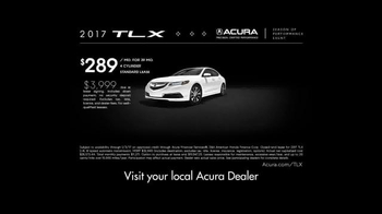 Acura Season of Performance Event TV Spot, '2017 TLX' - Thumbnail 8
