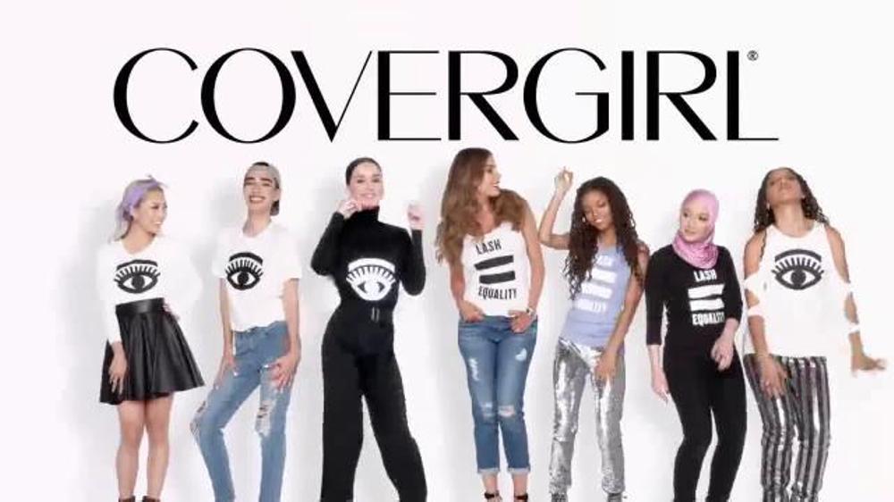 CoverGirl So Lashy! BlastPRO Mascara TV Commercial, 'Lash Equality' Ft. Amy Pham