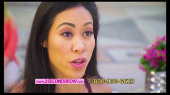 3 Second Brow TV Spot, 'All About the Brows' Featuring Taylor Baldwin - Thumbnail 7