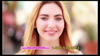 3 Second Brow TV Spot, 'All About the Brows' Featuring Taylor Baldwin - Thumbnail 8