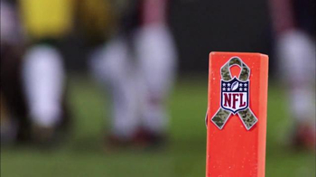 USAA TV Spot, 'Salute to Service: NFL Helmet Decal' - 6 commercial airings