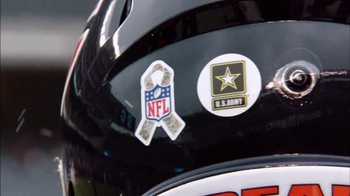 USAA TV Spot, 'Salute to Service: NFL Helmet Decal' - Thumbnail 6