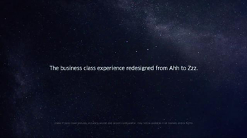 United Airlines Polaris Business Class TV Spot, 'From Ahh to Zzz' - Thumbnail 10