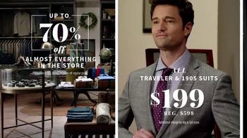 JoS. A. Bank Super Tuesday Sale TV Spot, 'Almost Everything' - 593 commercial airings