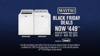 Lowe's Black Friday Deals TV Spot, 'Maytag Eye Candy' Feat. Colin Ferguson - Thumbnail 10