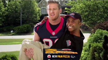 Papa John's Pan Pizza TV Spot, 'Carry' Featuring Peyton Manning, J.J. Watt - 1341 commercial airings