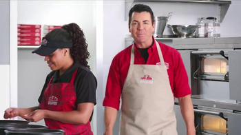 Papa John's Pan Pizza TV Spot, 'Carry' Featuring Peyton Manning, J.J. Watt - Thumbnail 7