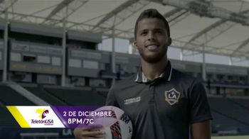 TeletonUSA TV Spot, 'Mi causa' con Giovani dos Santos [Spanish] - 23 commercial airings