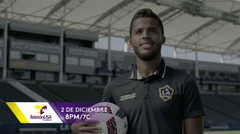 TeletonUSA TV Spot, 'Mi causa' con Giovani dos Santos [Spanish] - 23 commercial airings
