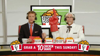 KFC $10 Chicken Share TV Spot, 'Quick Picks' Ft. Cooper Manning, Rob Riggle