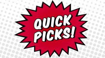 KFC $10 Chicken Share TV Spot, 'Quick Picks' Ft. Cooper Manning, Rob Riggle - Thumbnail 1
