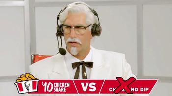 KFC $10 Chicken Share TV Spot, 'Quick Picks' Ft. Cooper Manning, Rob Riggle - Thumbnail 5