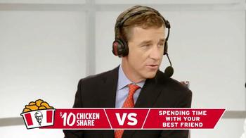 KFC $10 Chicken Share TV Spot, 'Quick Picks' Ft. Cooper Manning, Rob Riggle - Thumbnail 6