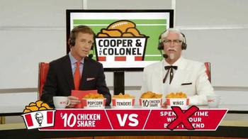 KFC $10 Chicken Share TV Spot, 'Quick Picks' Ft. Cooper Manning, Rob Riggle - Thumbnail 7