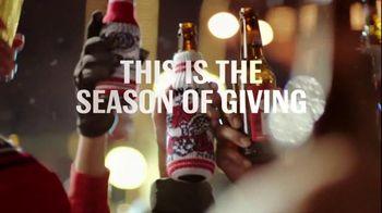 Budweiser TV Spot, 'Holiday: Macro All the Way'