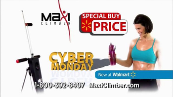 MaxiClimber Cyber Monday TV Spot, 'Sculpt and Tone' - Thumbnail 5