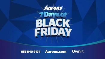 Aaron's Black Friday Sale TV Spot, 'Major Savings' - Thumbnail 6