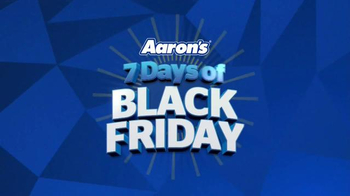 Aaron's Black Friday Sale TV Spot, 'Major Savings'