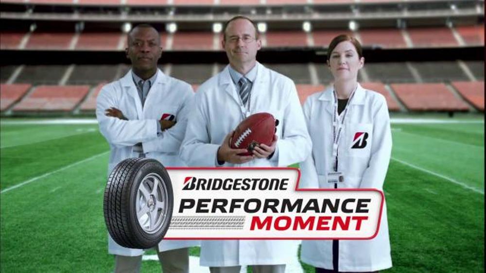 Bridgestone TV Commercial, 'NFL: Performance Moment'