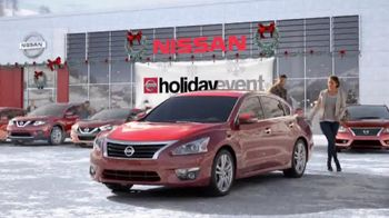 Nissan Holiday Event TV Spot, 'Rogue and Altima' - 3255 commercial airings