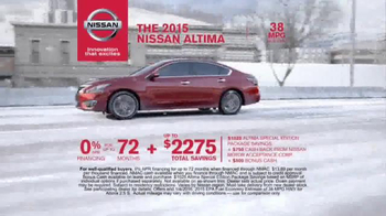 Nissan Holiday Event TV Spot, 'Rogue and Altima' - Thumbnail 6