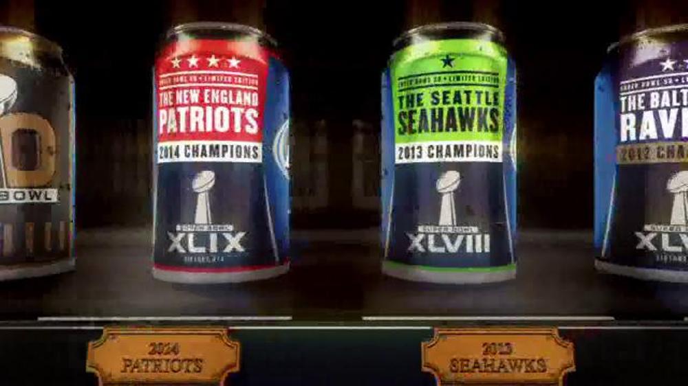 Bud Light Super Bowl Series TV Commercial, 'Trophy Case'