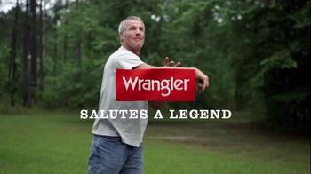 Wrangler Jeans TV Spot, 'Congrats' Featuring Brett Favre - Thumbnail 1