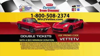 2015 Corvette Dream Giveaway TV Spot, 'Get Double Tickets' - Thumbnail 5