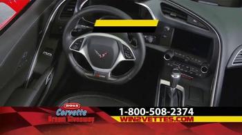 2015 Corvette Dream Giveaway TV Spot, 'Get Double Tickets' - Thumbnail 2