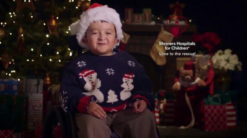 shriners hospitals for children tv commercial what i want for christmas ispottv