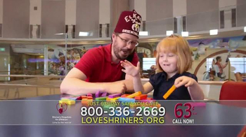 Shriners Hospitals for Children TV Spot, 'What I Want for Christmas' - Thumbnail 5
