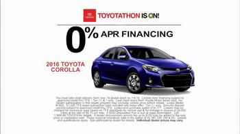 Toyota Toyotathon TV Spot, 'Blackout' - Thumbnail 6