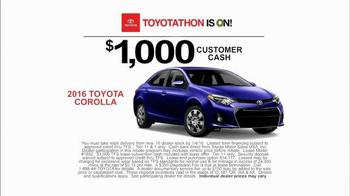 Toyota Toyotathon TV Spot, 'Blackout' - Thumbnail 7