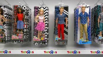 Toys R Us TV Spot, 'Barbie Fashionistas' - 389 commercial airings