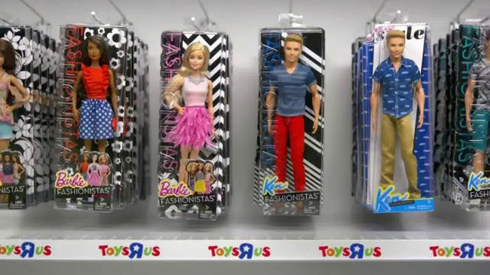 Toys R Us Tv Commercial Barbie Fashionistas Ispot Tv