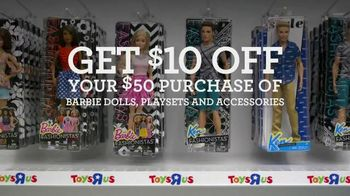 Toys R Us TV Spot, 'Barbie Fashionistas' - Thumbnail 6