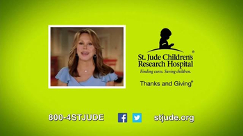 St. Jude Children's Research Hospital TV Spot, 'Thanks and Giving: Aniston' - Thumbnail 9