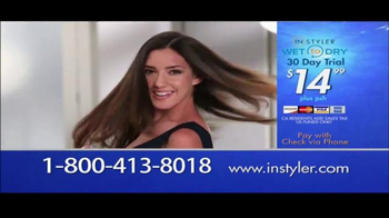 Instyler Wet to Dry TV Spot, 'Holiday Gift Giving' - Thumbnail 7