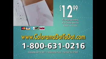 Colorama Dot-To-Dot Books TV Spot, 'Mini-Workout' - Thumbnail 9
