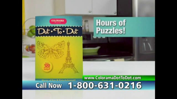 Colorama Dot-To-Dot Books TV Spot, 'Mini-Workout' - Thumbnail 6
