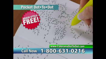 Colorama Dot-To-Dot Books TV Spot, 'Mini-Workout' - Thumbnail 7