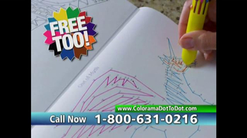 Colorama Dot-To-Dot Books TV Spot, 'Mini-Workout' - Thumbnail 8