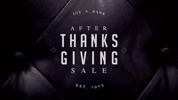 JoS. A. Bank After Thanksgiving Sale TV Spot, 'Suits, Shirts and Ties' - Thumbnail 1